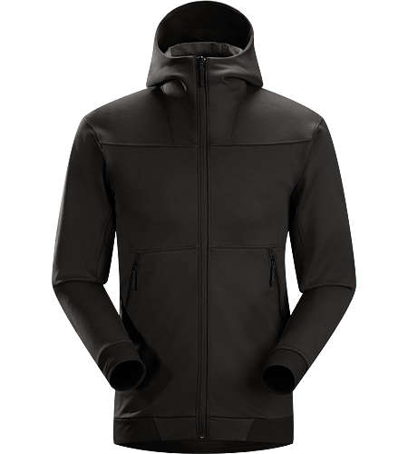 Straibo Hoody Men's Performance Cobblecomb™ fleece hoody with casual, contemporary mountain style.