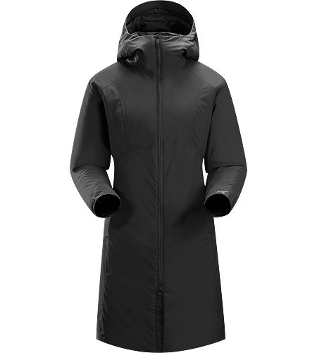 Sylva Parka Women's Women's specific, Insulated, windproof long coat with insulated hood and subtle design detailing. Ideal as a casual yet stylish urban coat for cold winter conditions.