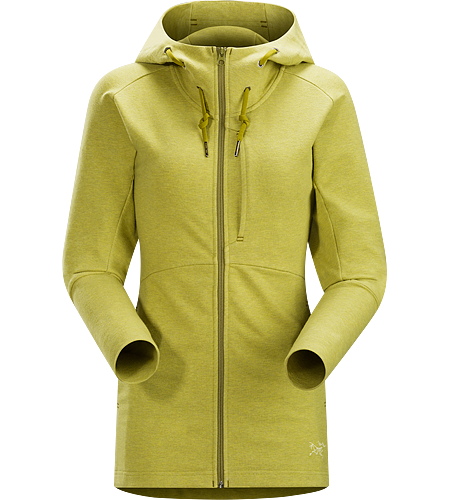 Tarsa Hoody Women's Casual hoody made from soft, comfortable Apgar™ cotton/polyester performance terry.