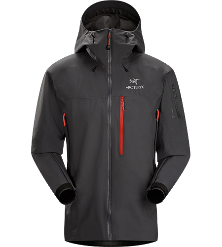 Theta SVX Jacket Men's A highly featured, severe weather condition jacket, designed for wet, stormy days. Our toughest and longest length waterproof jacket constructed with hardwearing GORE-TEX® 80D face fabric. Theta Series: All-round mountain apparel with increased coverage | SV: Severe Weather.