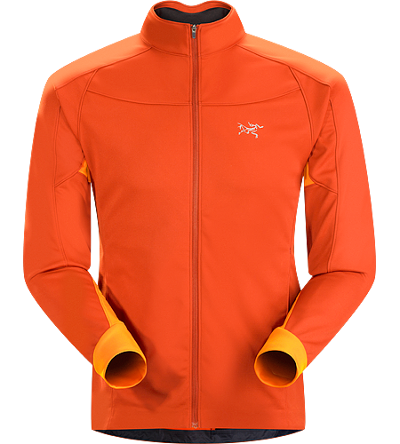 Trino Jacket Men's Performance oriented jacket with a combination of WINDSTOPPER® and stretchy Altasaris™ fabric for increased breathability. Ideal for high-output activities in cold conditions such as winter running and cross country skiing
