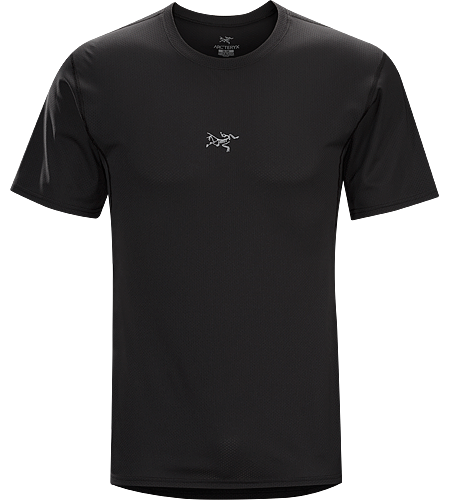 Velox Crew Men's Lightweight, air permeable Libro™ short sleeve polyester mesh shirt designed for maximum airflow while running, hiking or trekking in hot weather.