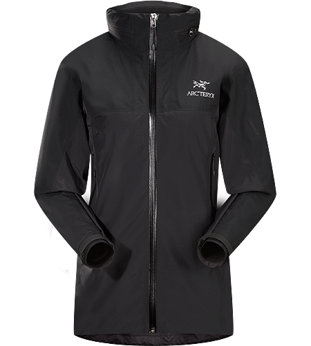Zeta LT Hybrid Jacket Women's Superlight, highly packable women's N40r GORE-TEX® fabric with Paclite® technology jacket with a stowable hood and N40p GORE-TEX® 3L with tricot technology reinforcements in high wear areas.