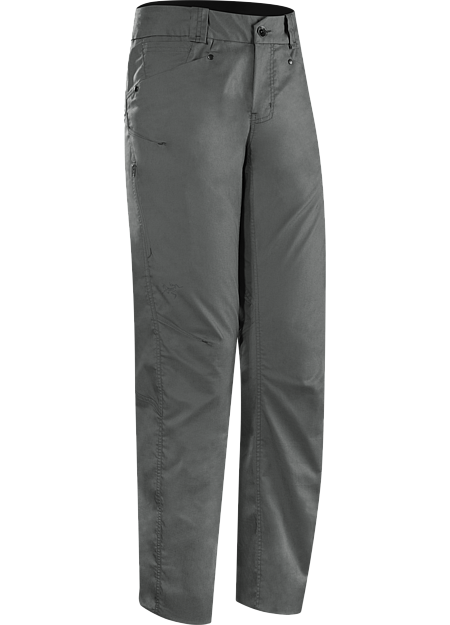 A2B Commuter Pant Men's Denim-inspired water repellant, quick drying pant with hidden reflective elements and adjustable pant cuffs for commuters.