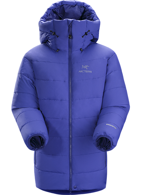 Ceres Jacket Women's The warmest jacket in the Arc'teryx Essentials collection, this box wall constructed down insulated jacket is made with WINDSTOPPER® and 850 fill down.