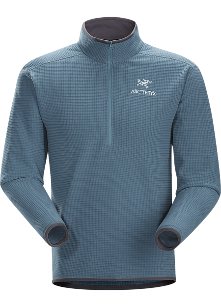Delta AR Zip Neck Men's Breathable, insulated, high-loft fleece jersey; Ideal as a layering piece. Delta Series: Mid layer fleece | AR: All-Round.