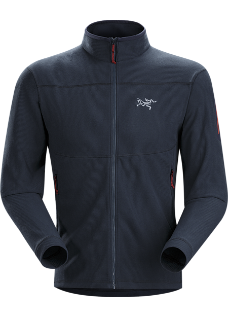 Delta LT Jacket Men's Versatile, lightweight, packable microfleece jacket that works as a midlayer or shoulder season standalone. Delta Series: Mid layer fleece | LT: Lightweight.