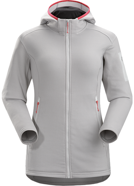 Fortrez Hoody Women's Durable, mid weight, hardfleece hooded jacket; ideal as a layering piece, or as a stand alone piece on cooler, dry days.