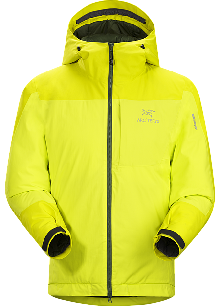 Kappa Hoody Men's Kappa Series: Insulated windproof outerwear. Highly insulated, windproof, breathable jacket constructed with enhanced WINDSTOPPER® fabric with a softer face, and reinforced shoulders and arms; ideal for active pursuits in freezing weather.