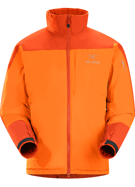 Kappa Jacket Men's Kappa Series: Insulated wind resistant outerwear. Highly insulated, windproof, breathable jacket constructed with enhanced WINDSTOPPER® fabric with a softer face, and reinforced shoulders and arms, ideal for active pursuits in freezing weather.