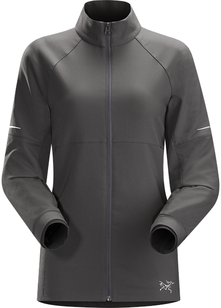 Kapta Jacket Women's Air permeable, midweight, water resistant insulation for running and outdoor training in cold weather. Made from double face DryWeb™ polyester.