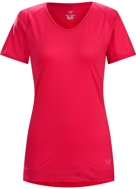 Mentum Tee SS Women's Lightweight Crystalis™ women's technical tee with excellent stretch and classic ringer styling.