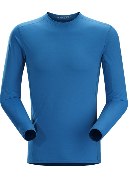 Phase SL Crew LS Men's Moisture-wicking base-layer, constructed using odour-control fabric; Ideal as lightweight insulation layer during aerobic activities. Phase Series: Moisture wicking base layer | SL: Superlight.