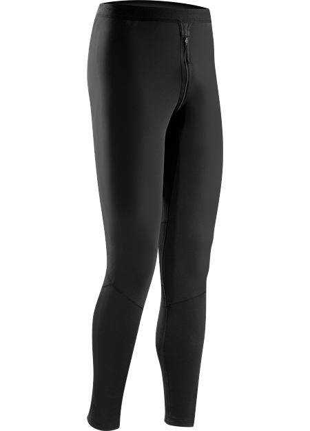 Phase SV CZ Bottom Men's Moisture-wicking base-layer with through-the-crotch zip, constructed using odour-control fabric; Ideal as mid-level insulation during aerobic activities. Phase Series: Moisture wicking base layer | SV: Severe Weather.