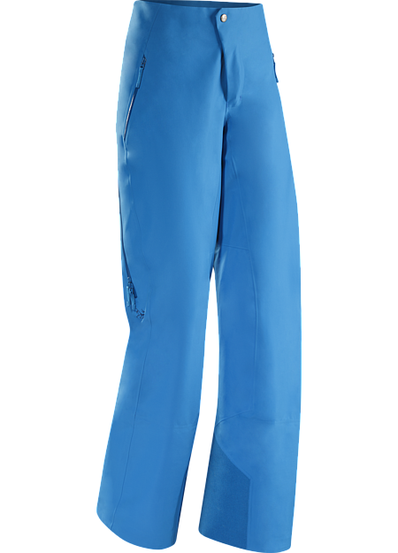 Ravenna Pant Women's Streamlined, weatherproof, stretch GORE-TEX® ski and snowboard pant with a warm brushed fleece liner.