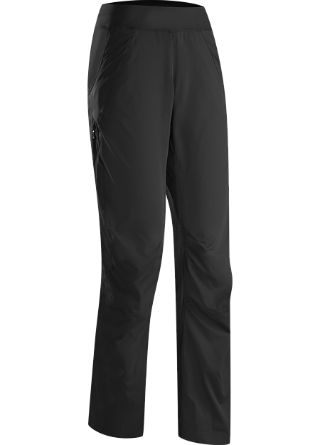 Solita Pant Women's Light, full coverage, warm-up/cool down pant with 3/4 length side zips that enable easy removal over running shoes.