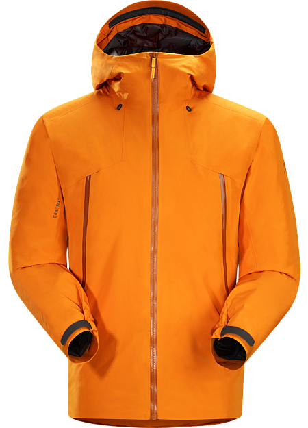 Stikine Jacket Men's Waterproof, warm, lightweight, breathable GORE-TEX® shell with ThermaTek™ insulation for backcountry descents and rest periods.