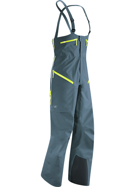 Stinger Bib Men's Hardwearing, efficiently designed waterproof GORE-TEX® Pro bib for complete protection on deep powder days.