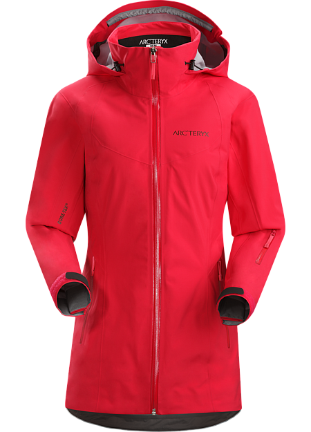 Stingray Jacket Women's Lightly insulated, waterproof/breathable GORE-TEX® jacket with 3L softshell construction and on piste style and performance.