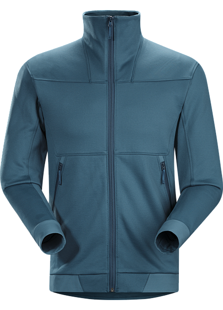 Straibo Jacket Men's Cobblecomb™ fleece jacket delivering mountain midlayer performance with clean, contemporary lines.
