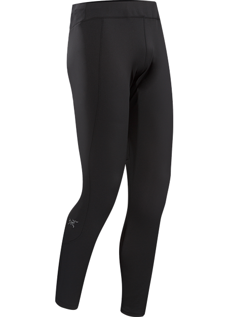 Stride Tight Men's Elastische, vielseitige Lauftights aus warmem Altasaris™-Strickjersey. Ideal für schweißtreibende Aktivitäten an kalten Tagen, beispielsweise zum winterlichen Joggen oder Langlaufen.