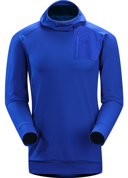 Stryka Hoody Men's A trim fitted, cold weather base layer with a balaclava style hood.