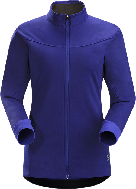 Trino Jacket Women's Breathability and stretch with the weather protection of WINDSTOPPER® in a jacket for four season, high output aerobic activities.