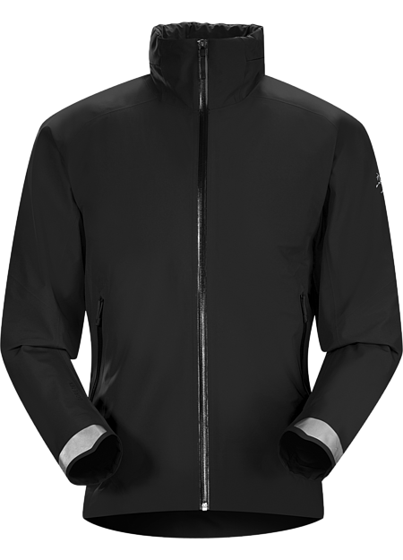 A2B Commuter Hardshell Jacket Men's Men's waterproof/breathable GORE-TEX® jacket designed for urban bike commutes and city living.