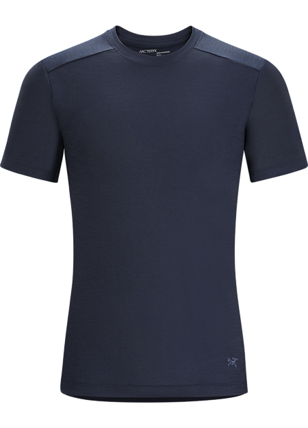 A2B T-Shirt Men's Performance focused men's crew neck T-shirt made from Polylain™ polyester/wool  blend. Designed for active urban living and bicycle commutes.