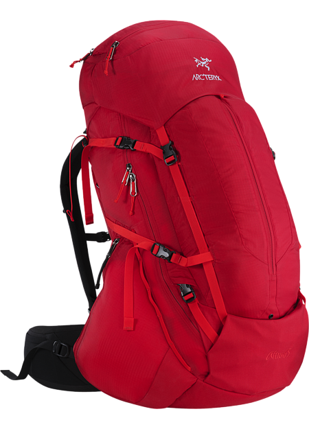 Altra 65 Backpack Men's Five plus day, 65 litre volume trekking and backpacking pack constructed with the new C² Composite Construction suspension system,