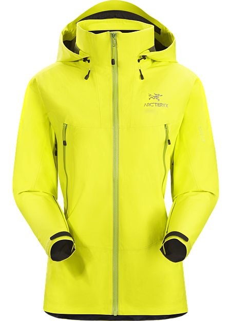 Beta LT Hybrid Jacket Women's The most packable and supple jacket in the Arc'teryx Essentials collection; constructed using GORE-TEX® with Paclite technology in the main body, and reinforced with GORE-TEX® with 3L tricot technology in high wear areas. Beta Series: All-round mountain apparel | LT: Lightweight.
