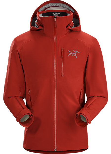 Cassiar Jacket Men's GORE-TEX® protection and stretch performance in a streamlined on-area ski shell.
