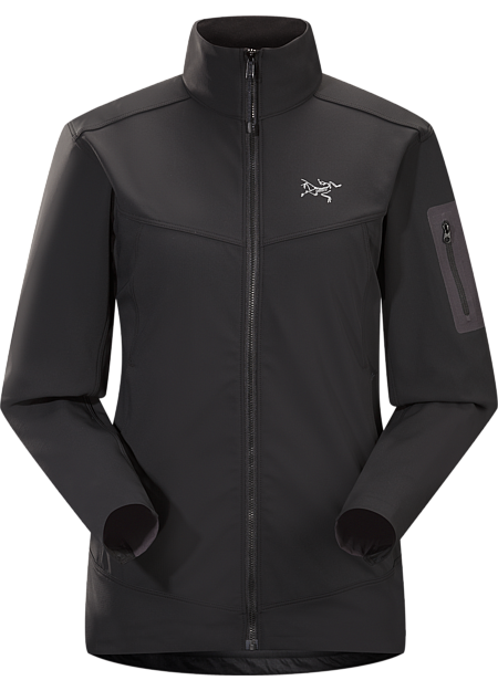 Epsilon LT Jacket Women's Moderate warmth mid layer jacket with good air permeability and the durable woven face of a softshell. Epsilon Series: Abrasion resistant mid layer fleece | LT: Lightweight.
