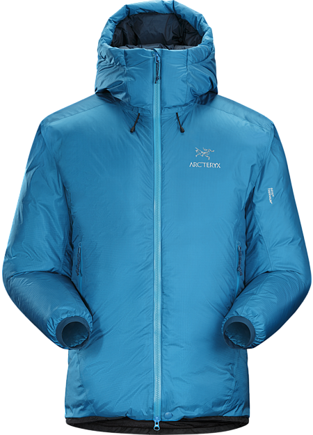 Firebee AR Parka Men's Technically advanced down parka with a water-resistant GORE® THERMIUM™ shell. Down Series: Down insulated garments | AR: All-Round.