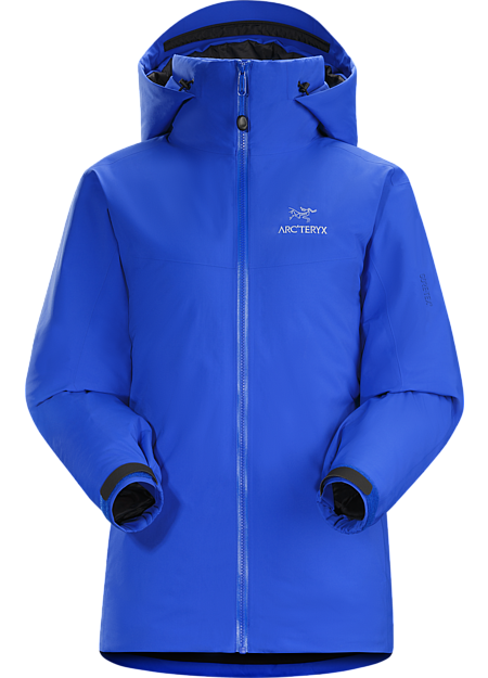 Fission SV Jacket Women's Waterproof, insulated jacket constructed with enhanced GORE-TEX® fabric with a softer face and Coreloft™ insulation. Our warmest, fully waterproof, synthetic insulated, all-mountain jacket. Fission Series: Insulated weatherproof outerwear | SV: Severe Weather.