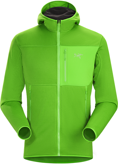 Fortrez Hoody Men's Durable midweight fleece hoody performs as a layering piece or standalone.