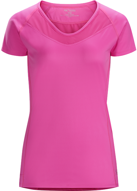 Kapta Shirt SS Women's Women's short sleeve technical tee combines soft Endogauge™ fabric with Endoligh™ mesh for comfort and moisture management during high output training on hot days.