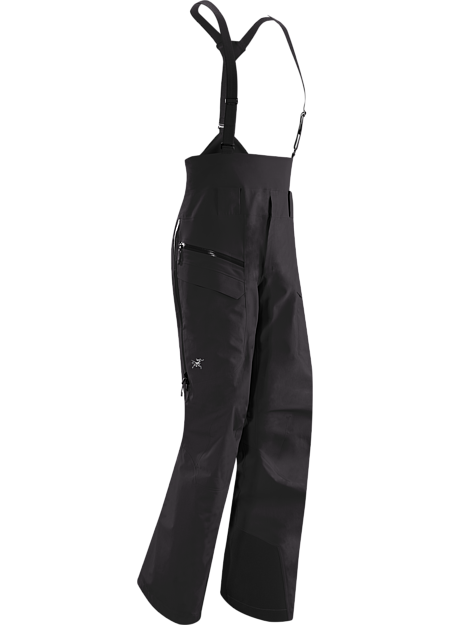 Lithic Comp Pant Men's Composite fabric backcountry ski touring pant combines Arc'teryx developed Trusaro™ softshell with strategically placed waterproof GORE® Fabric Technology for zonal weather protection.