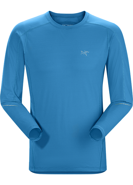 Motus Crew LS Men's Lightweight, versatile long sleeve crewneck delivering superior moisture wicking performance to regulate body temperature during high output activities.