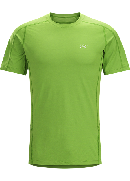 Motus Crew SS Men's Lightweight, streamlined, technically advanced short sleeve shirt provides superior moisture wicking performance to regulate body temperature during high output activities.