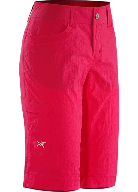 Parapet Long Women's Versatile, lightweight casual hiking short made from highly durable TerraTex™ fabric.