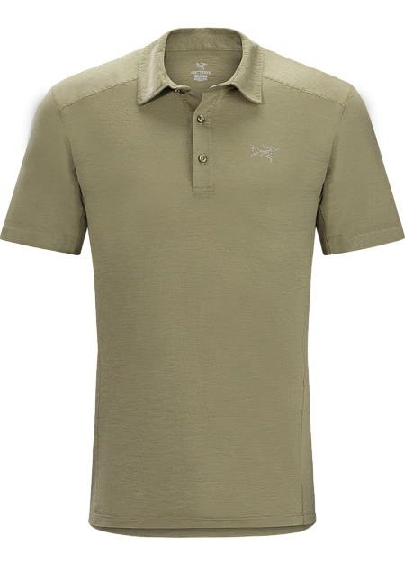 Pelion polo shirt arc 39 teryx for Merino wool shirts for travel