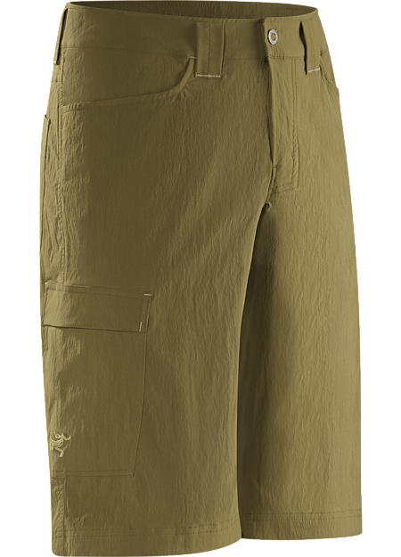 Rampart Long Men's Lightweight, air permeable TerraTex™ nylon hiking and trekking short designed for maximum mobility.