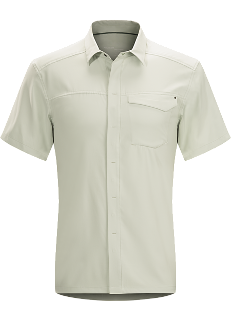 Skyline Shirt SS Men's Short sleeve, moisture wicking Diem™ polyester shirt with comfort stretch. Designed for cool, dry comfort in warmer conditions.