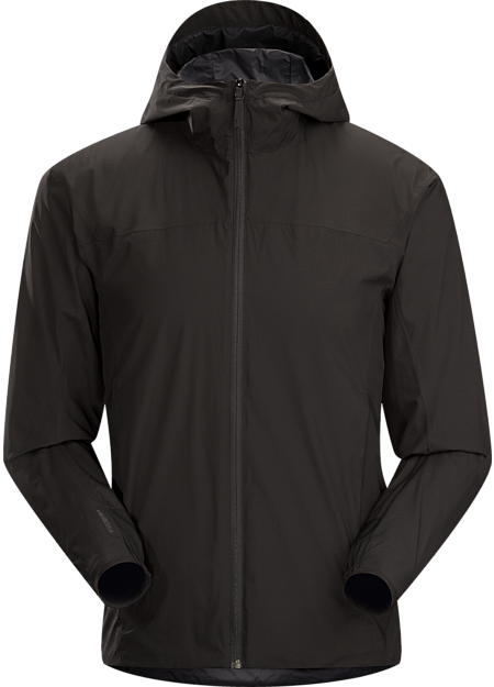 Solano Jacket Men's Light, breathable, hooded men's WINDSTOPPER® jacket provides wind protection and water repellency around town.