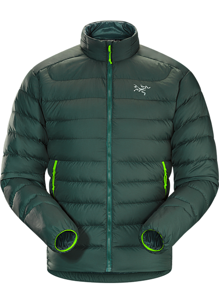 Thorium AR Jacket Men's Warm, durable, versatile jacket with an Arato™ 40 nylon face fabric and insulated with lofty 750 fill grey goose down. Functions as a cold weather midlayer or standalone piece in cool, dry conditions. Down Series: Down insulated garments | AR: All-Round.