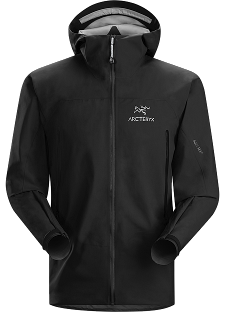 Zeta AR Jacket Men's Versatile shell for trekking and hiking features the comfortable waterproof breathable protection of GORE-TEX® fabric with GORE® C-KNIT™ backer technology.