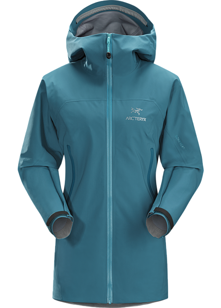 Zeta AR Jacket Women's Versatile women's trekking and hiking shell features the comfortable waterproof breathable protection of GORE-TEX® fabric with GORE® C-KNIT™ backer technology.