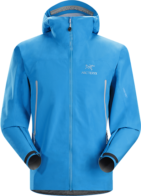 Zeta LT Jacket Men's Lightweight, packable, versatile shell for trekking and hiking features the comfortable waterproof breathable protection of GORE-TEX® fabric with GORE® C-KNIT™ backer technology.