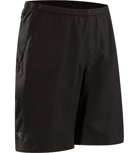 Accelero Short Men's Lightweight, breathable, quick-drying running/training short with a longer length and DWR (durable water repellent) finish.